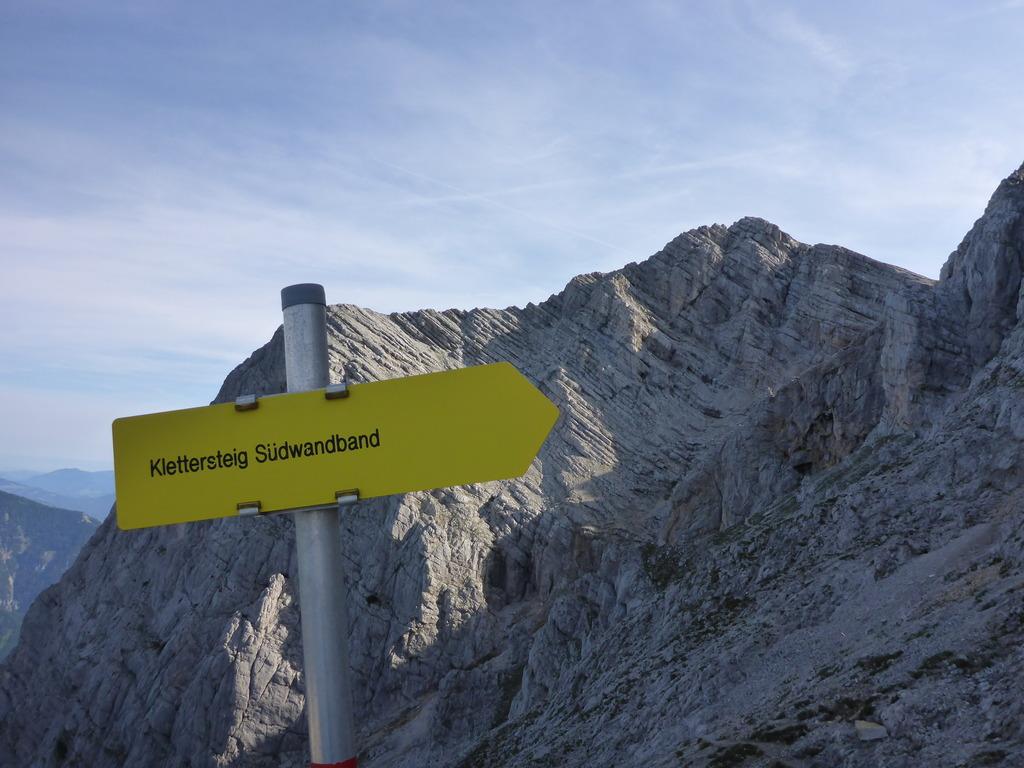 Klettersteig Buchstein : Gruss vom südwandband klettersteig am buchstein m tulln