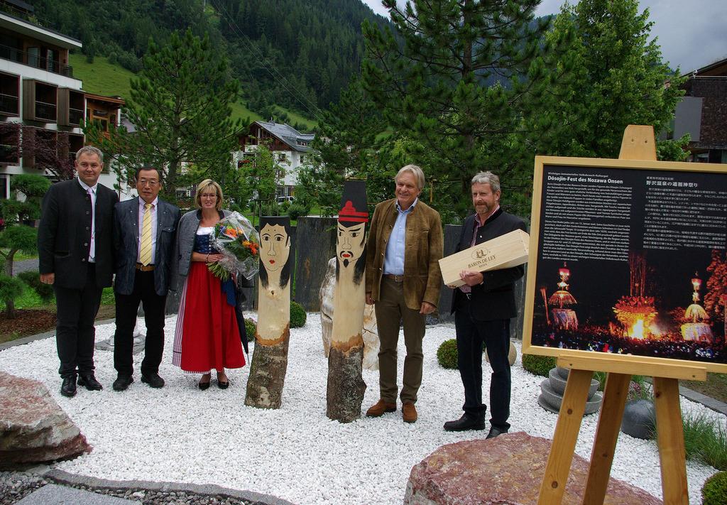 St. Anton: Kleiner japanischer Garten eröffnet - Landeck