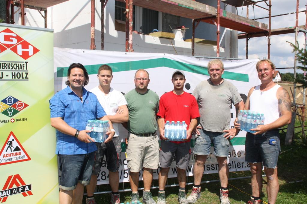 Trinkwasseraktion Auf Unseren Baustellen Waidhofen Thaya