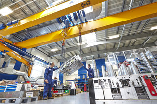 Haidlmair investierte knapp vier Millionen Euro in die neue Halle für den Großwerkzeugbau.