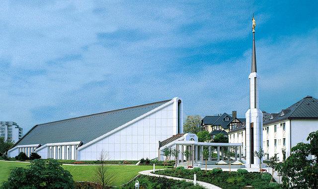 Mormonentempel Friedrichsdorf