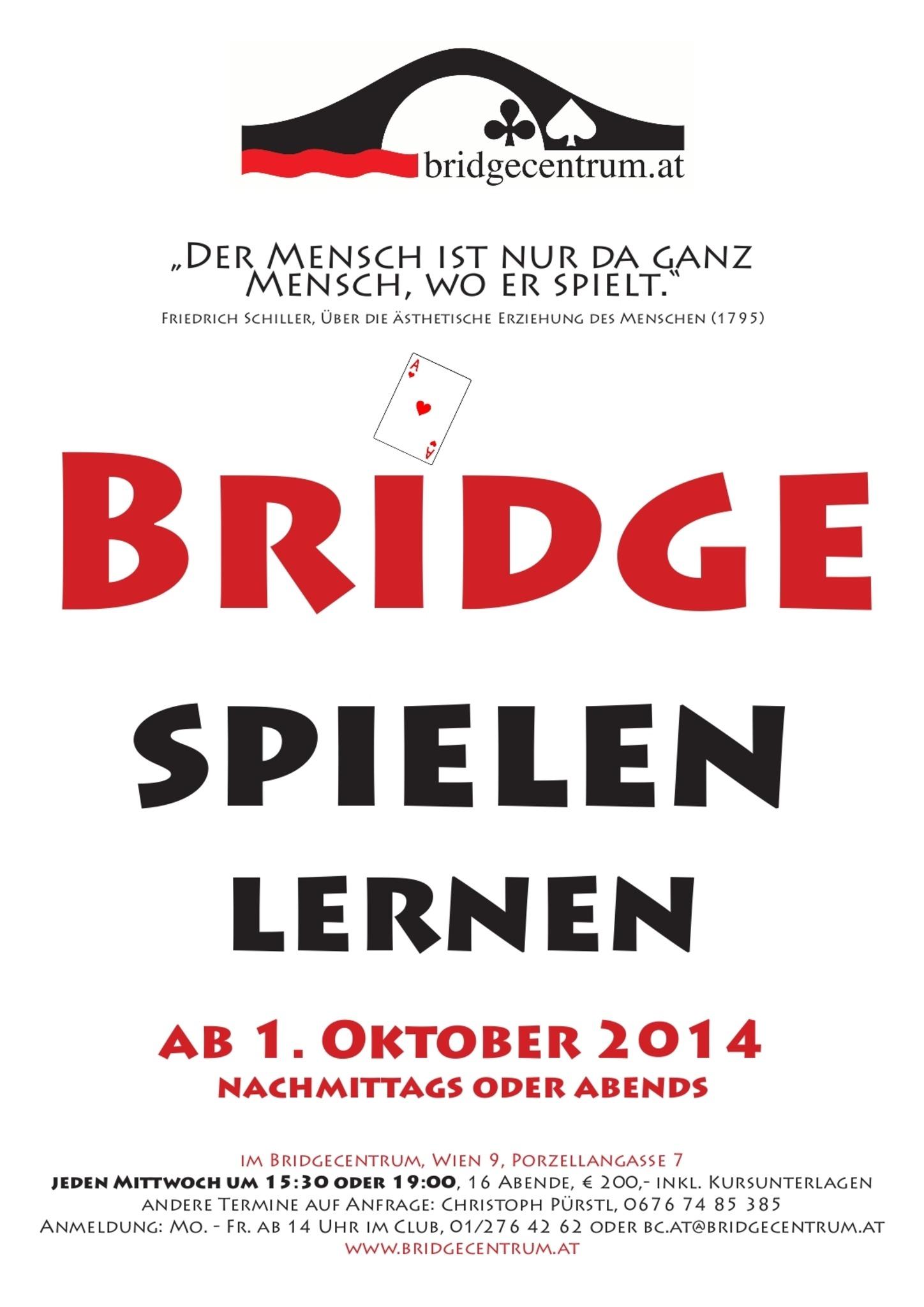 Bridge Kartenspiel Lernen