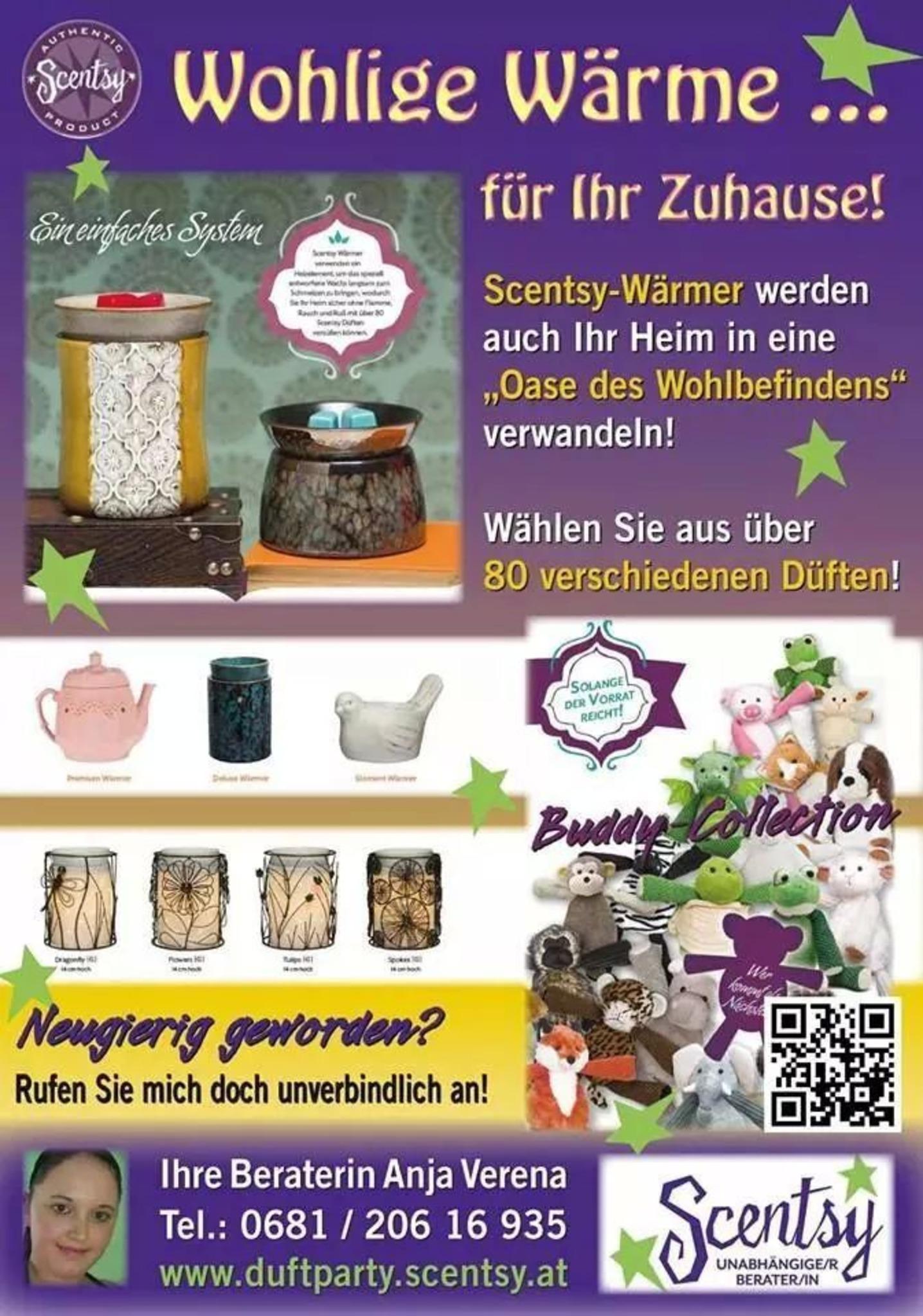 Scentsy Fragrance eröffnete nun auch in Österreich- werden Sie einer ...