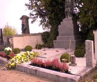 Ruhestätte In Priestergruft Am Friedhof Mattighofen