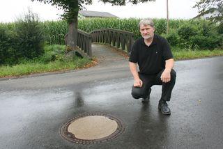 Der Kanal und seine Finanzierung beschäftigt nicht nur den Jennersdorfer Grünen-Stadtrat Robert Necker. Es geht um das Verursacherprinzip.