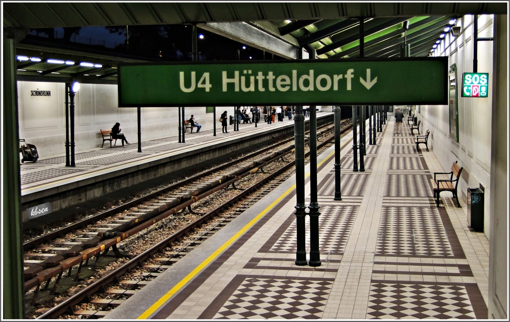 U4 Station Schönbrunn Hietzing