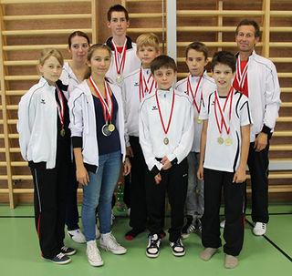 Das erfolgreiche Team Kumgang Stockerau