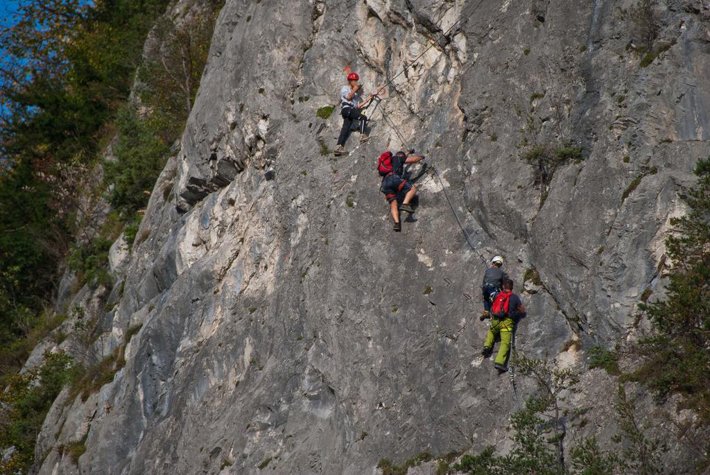 Klettersteig Zams : Klettersteig galugg landeck