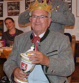 Perger Schützenkönig 2014 Rudolf Kling