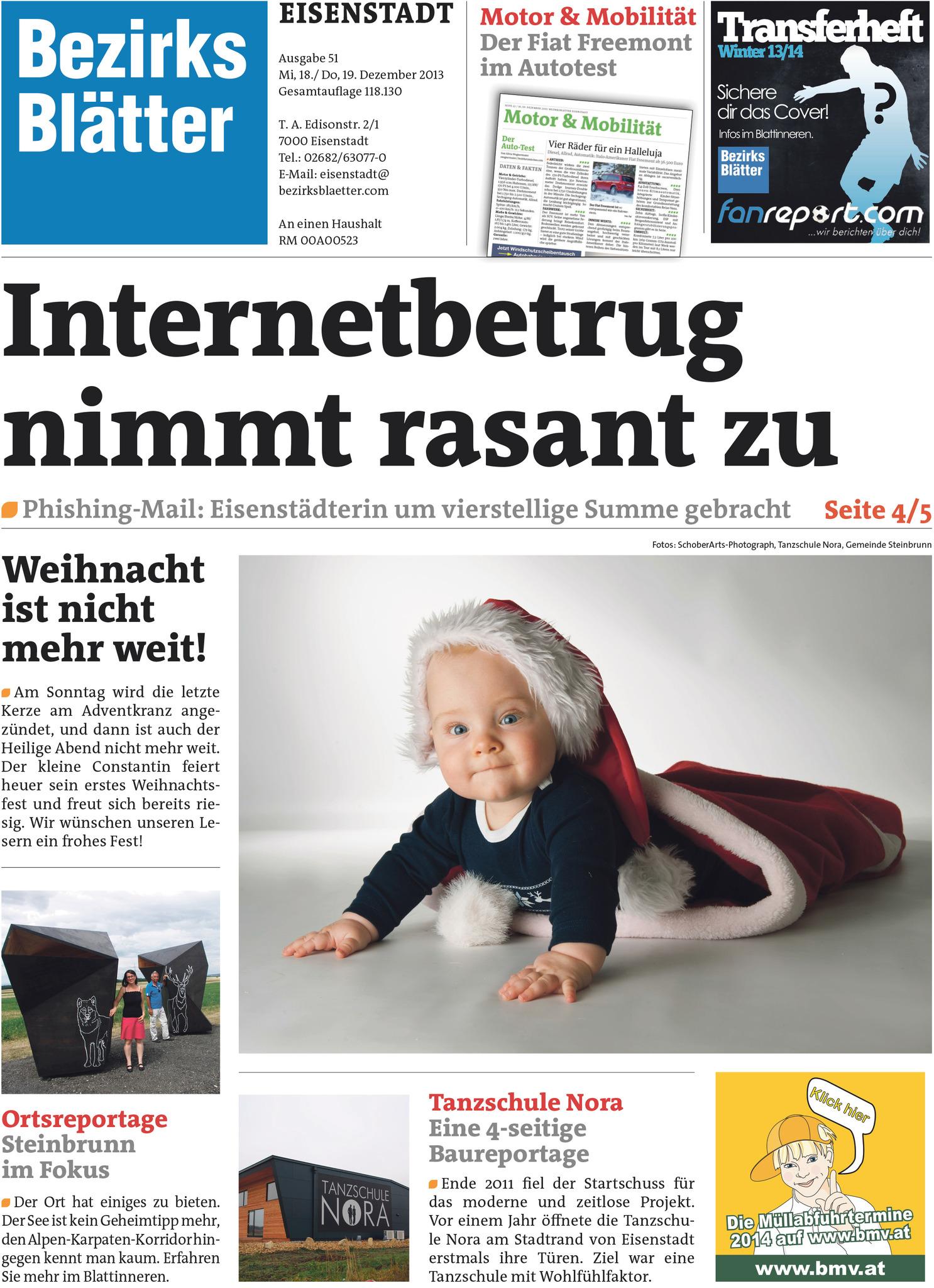 Gewinner: Fotos für die Bezirksblätter-Weihnachtsausgaben - Eisenstadt
