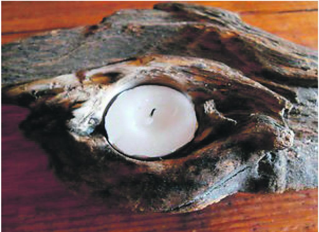 Weihnachtliches Basteln Mit Schwemmholz Und Lech Steinen Reutte