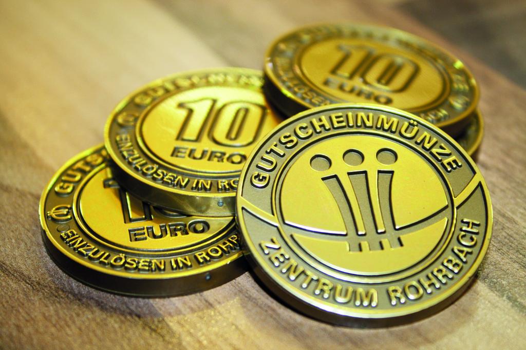 Ein Tolles Geschenk Sind Die Rohrbacher Münzen Rohrbach