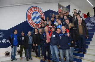 Eine Licht Loidl Lafnitz Fangruppe schnupperte beim FC Bayern München.
