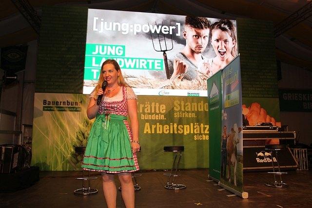 LANDWIRT FLIRT SHOW auf der Messe Wieselburg