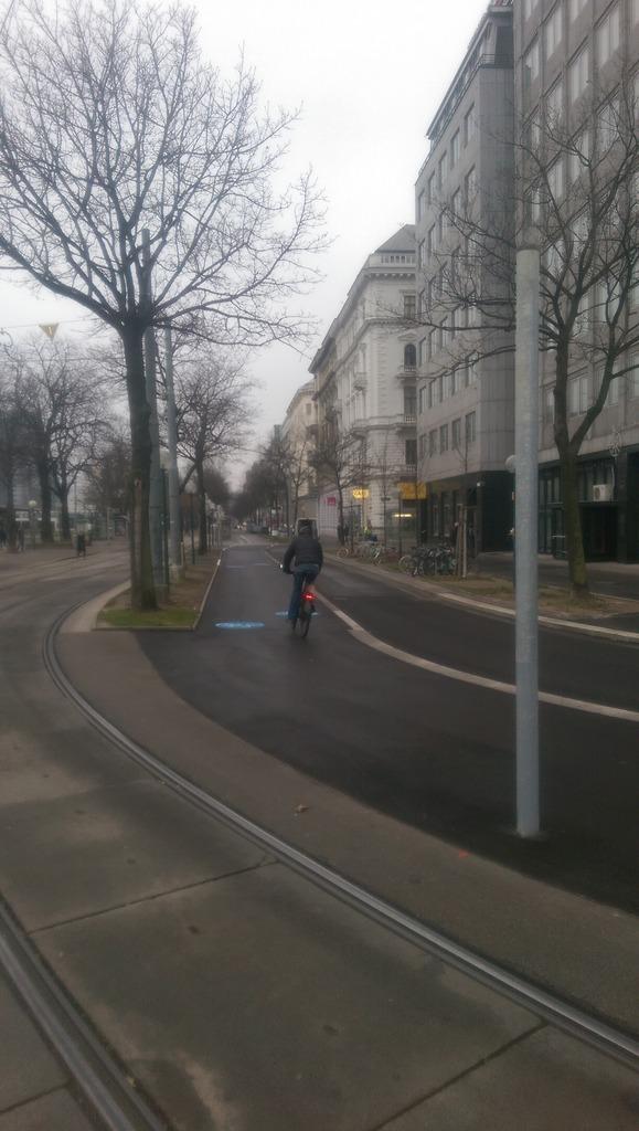 radweg in Wien Thema auf meinbezirk.at