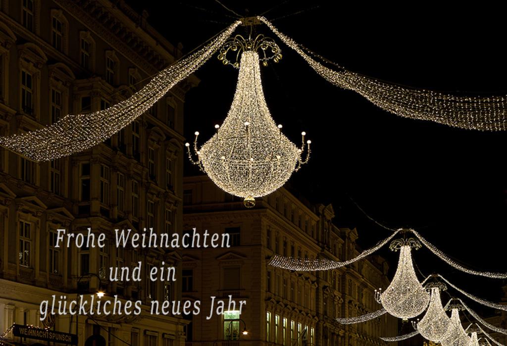 Weihnachts- und Neujahrswünsche - Meidling