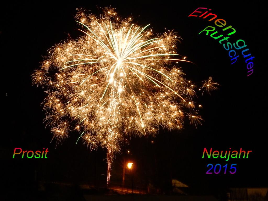 Wünsch Euch einen guten Rutsch ins neue Jahr. Gesundheit und ...