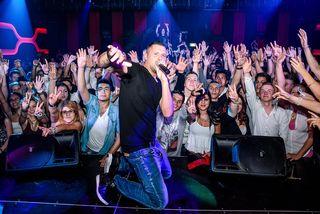 Superstars der Szene wie MC Yankoo sorgen bei Stefanits Gästen regelmäßig für Stimmung.