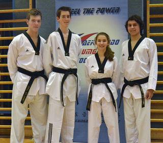 Florian, David, Nina, Richard