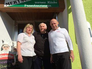 Silvia Mertschnigg, Rudi Katzbeck und Helmut Mertschnigg.