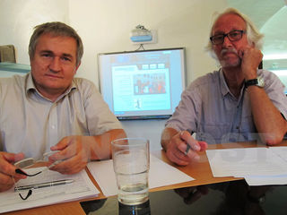 Ewald Ulrich (links) und Winfried Lehmann übernehmen Verantwortung für das kulturelle Klima vor Ort.
