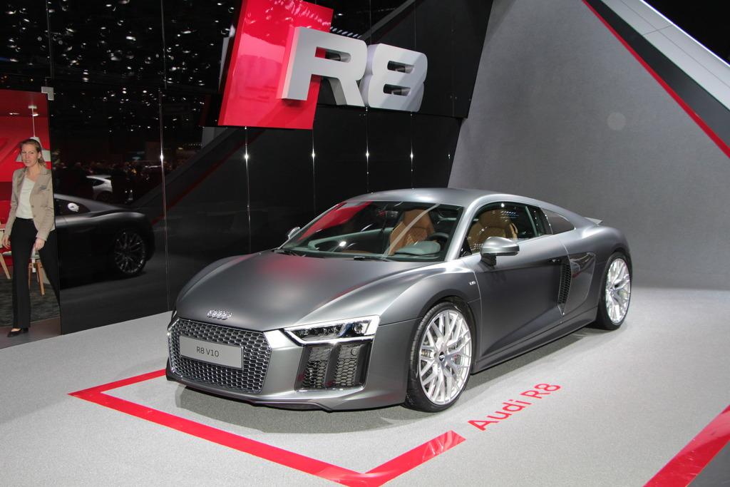 Neuheiten Vom Auto Salon In Genf Neuer Audi R8 Startet Im Sommer
