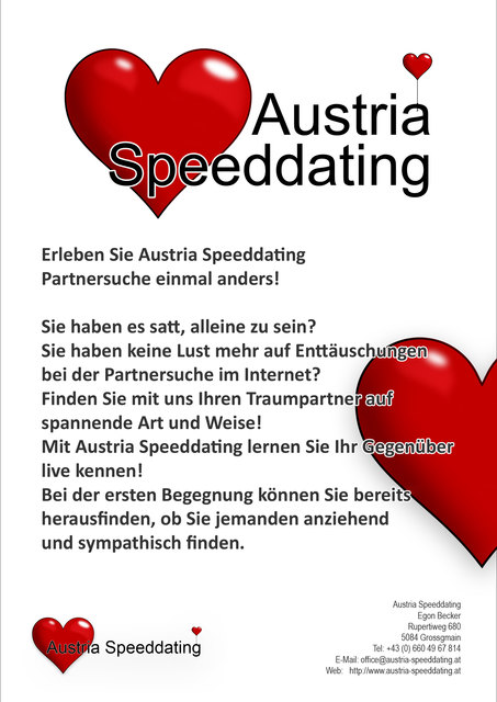Flirten auf Zeit: City Speed Dating im Salzburger Republic