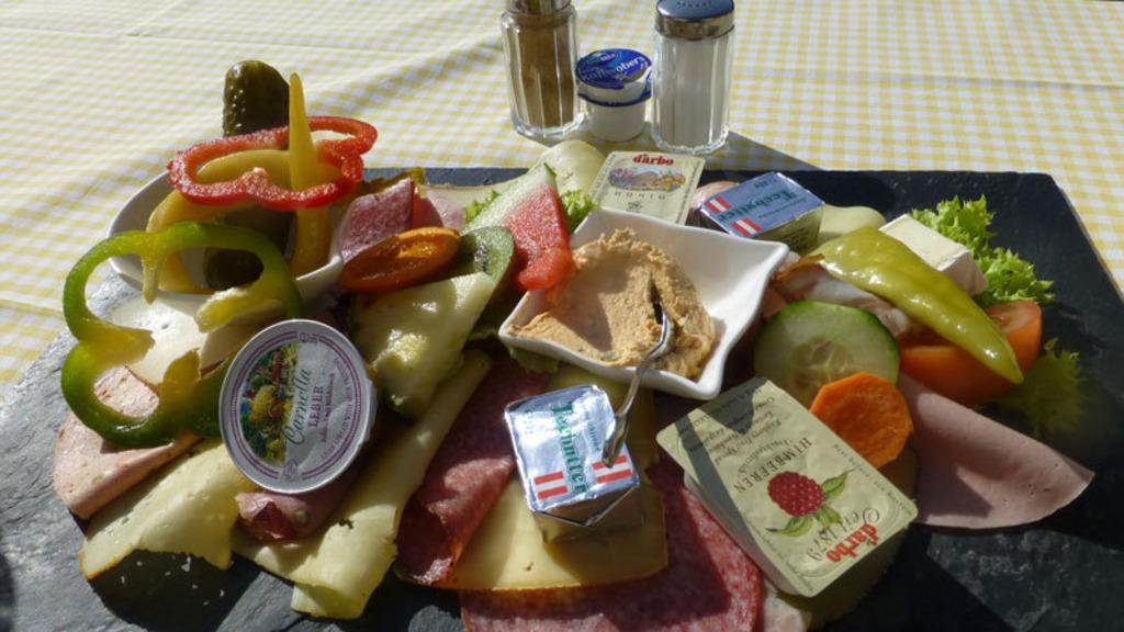 Frühstück Im Kaisertal Veitenhof Kufstein