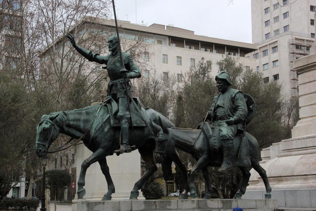 Don Quijote Und Sancho Pansa Rudolfsheim Funfhaus