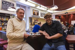 """Tom Zezula und Michi Grassl von der Academy Bar starten ab sofort den """"suspended coffee""""."""