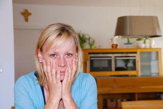 Verena Küßler: An ihr nagt die Ungewissheit, wie es weitergehen wird.