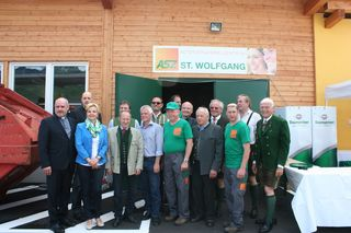 Am 31.Mai 2015 wurde das ASZ feierlich in St. Wolfgang eröffnet
