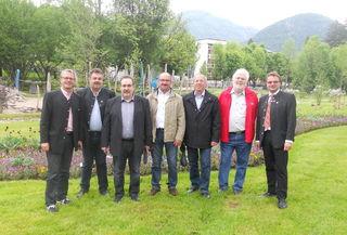 Bürgermeister Hannes Heide und die Sicherheitswache Bad Ischl luden zur Tagung der Dienststellen-Leiter ein.