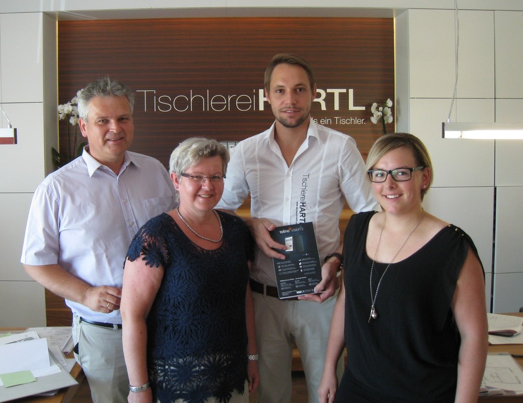 Tischlerei Hartl Gewinnt E Book Reader Freistadt