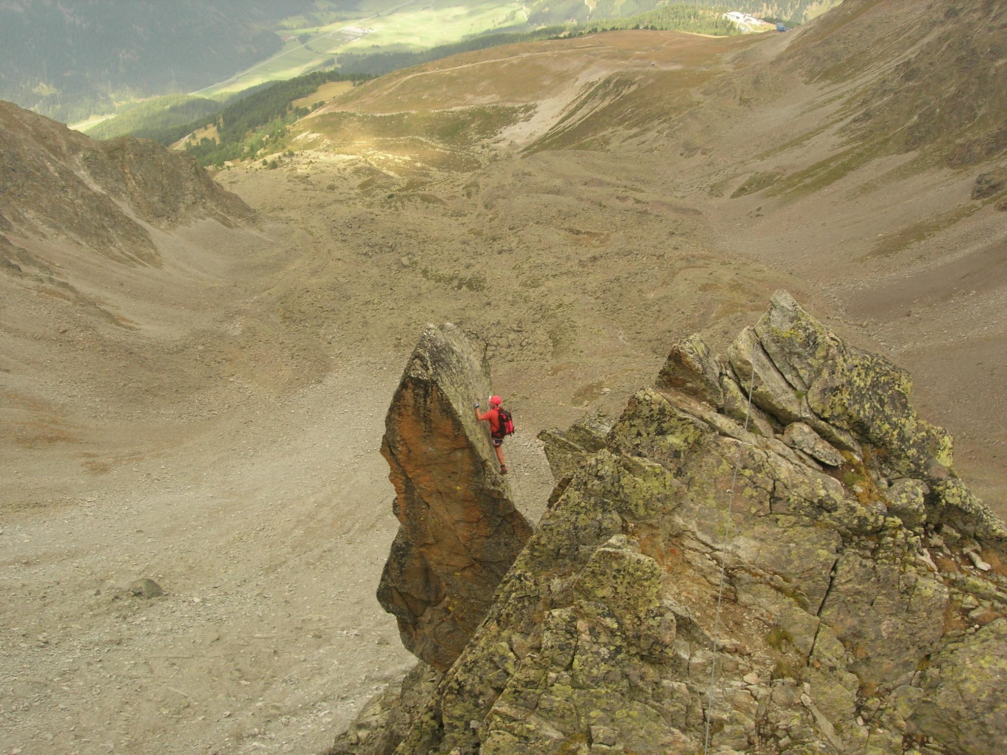 Klettersteig Nauders : Klettersteige im august telfs