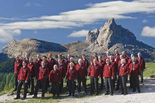 """Die Liebe zu den Bergen, zur Musik und zum Gesang, führte die Sänger des """"Montanara Chores"""" zusammen."""