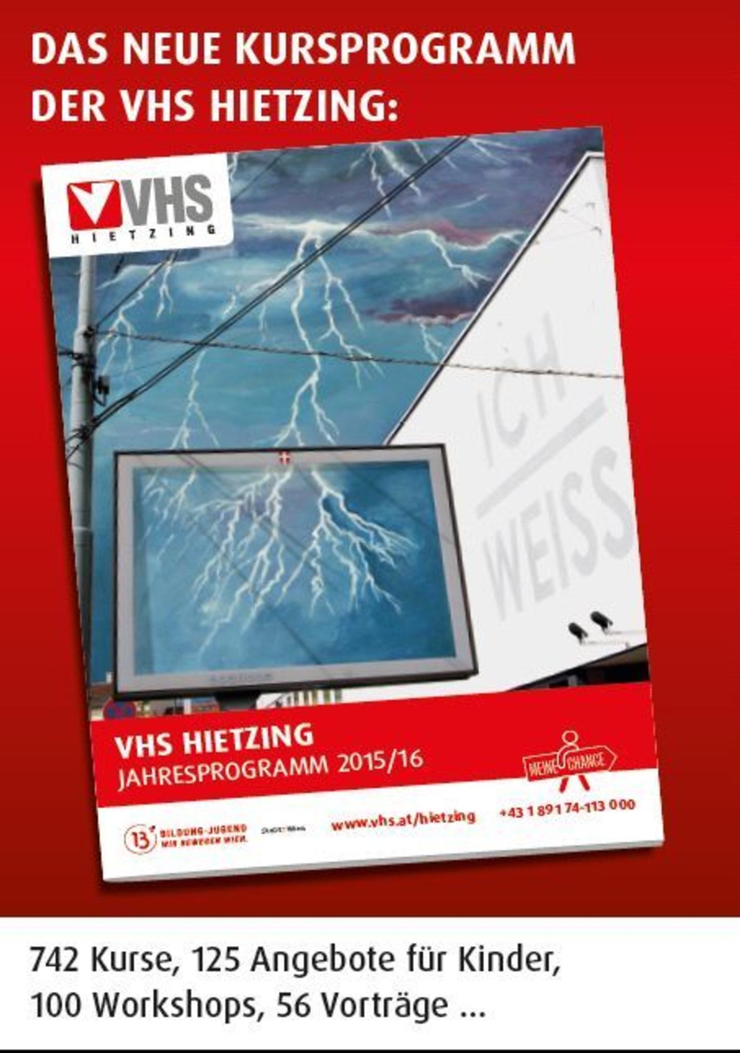 Kursprogramm VHS Hietzing - Die Wiener Volkshochschulen