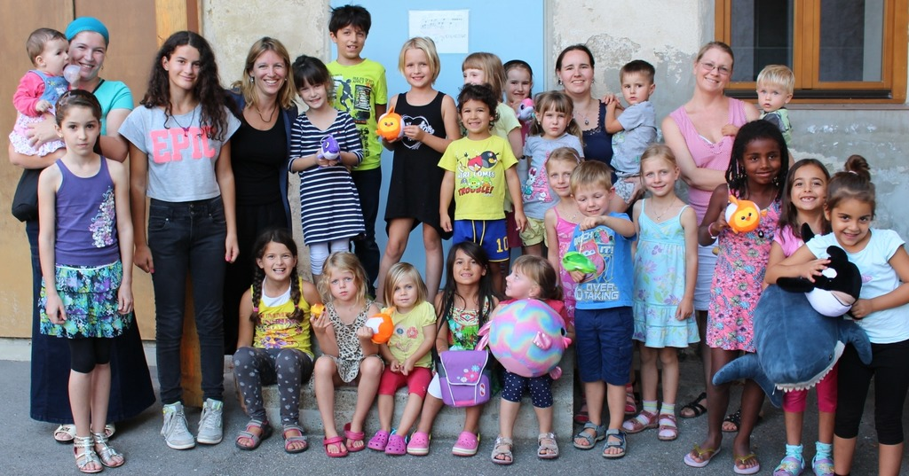 Kinderprojekt Regenbogenfisch Steinfeld