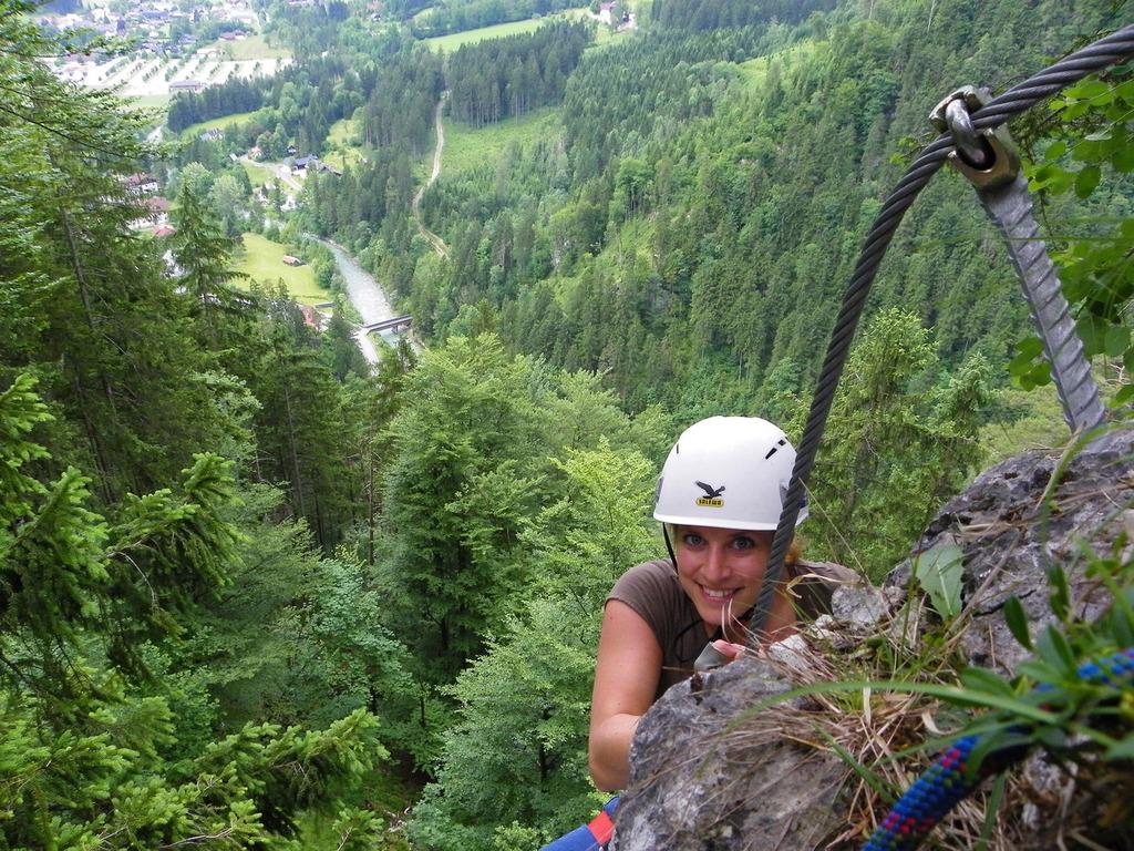 Klettersteigset Xxl Sport : Klettersteig poppenberg wird offiziell eröffnet kirchdorf