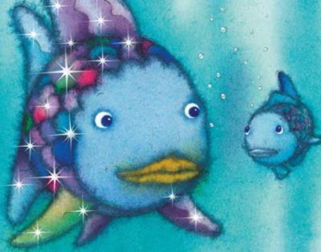 Der Regenbogenfisch Scharding