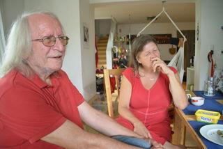 Wolfgang und Barbara Gessmann haben ihr Haus für eine Flüchtlingsfamilie geöffnet.