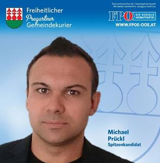 Facebook-Profilbild von Michael Prückl.