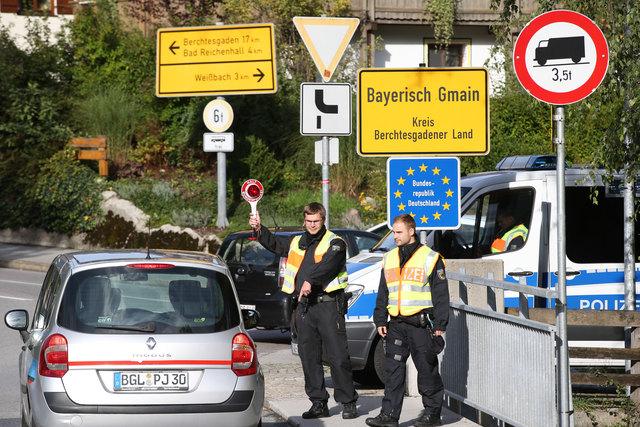 Grenzübergang Salzburg Deutschland