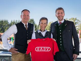 Tradition hat einen Namen: Philipp (re.) und Ingrid Gady mit Eugen Roth (li).