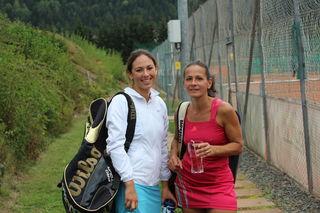Standen sich im Finale gegenüber: Katharina Nazar und Dunja Jandl