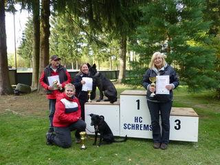 BHI: Eine Siegerin und drei Teilnehmer punktegleich auf Rang zwei