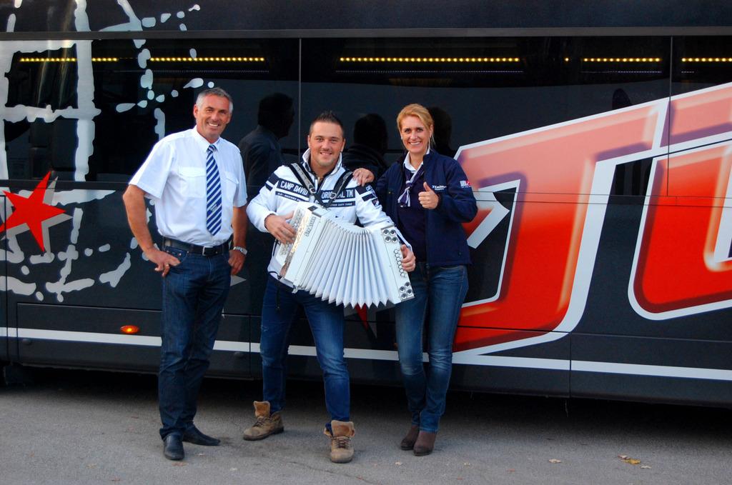 überraschungsfahrt Mit Tieber Busreisen Oberwart