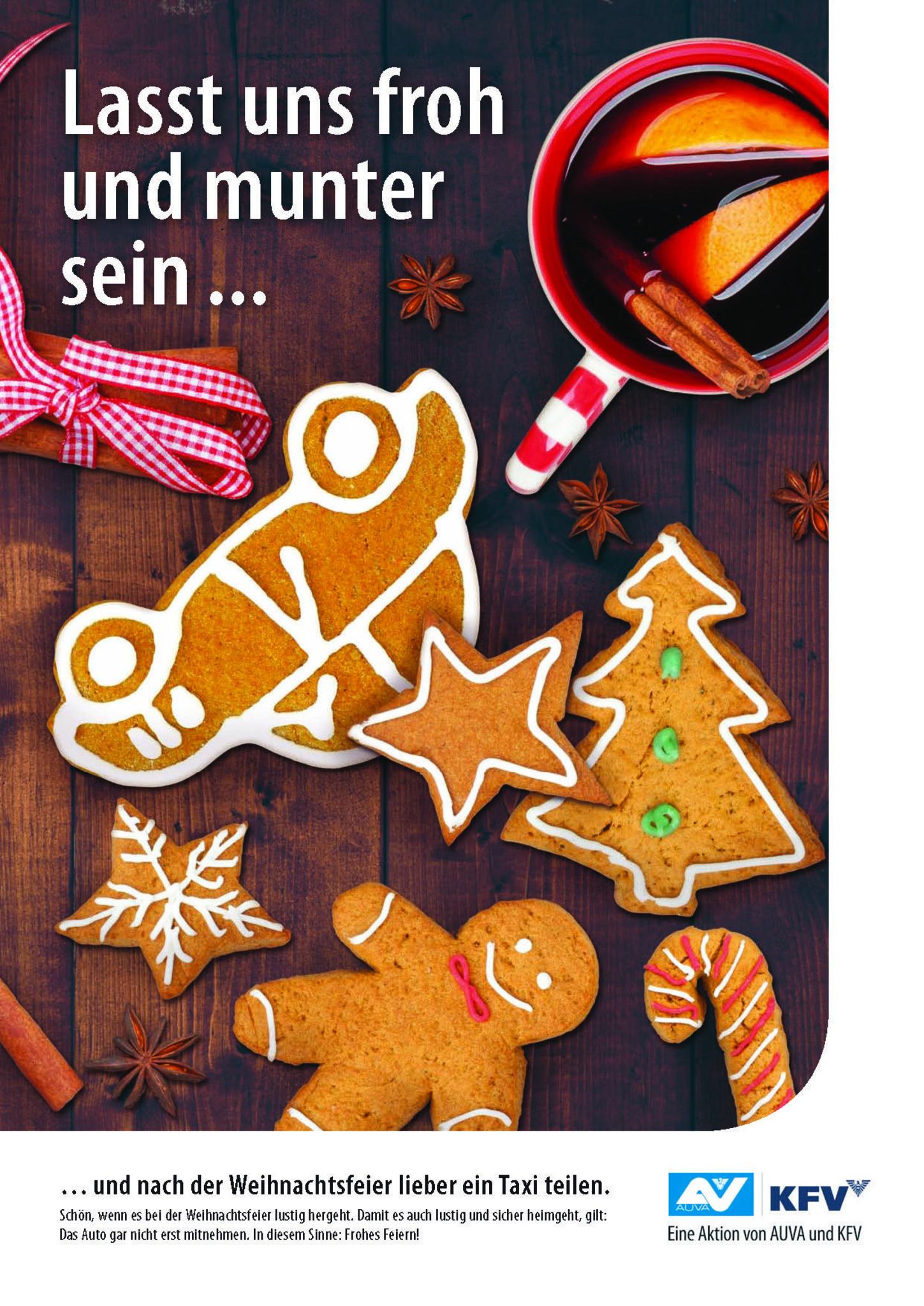 Weihnachtsfeier Lustig.Sicher Nach Hause Von Der Weihnachtsfeier Innsbruck