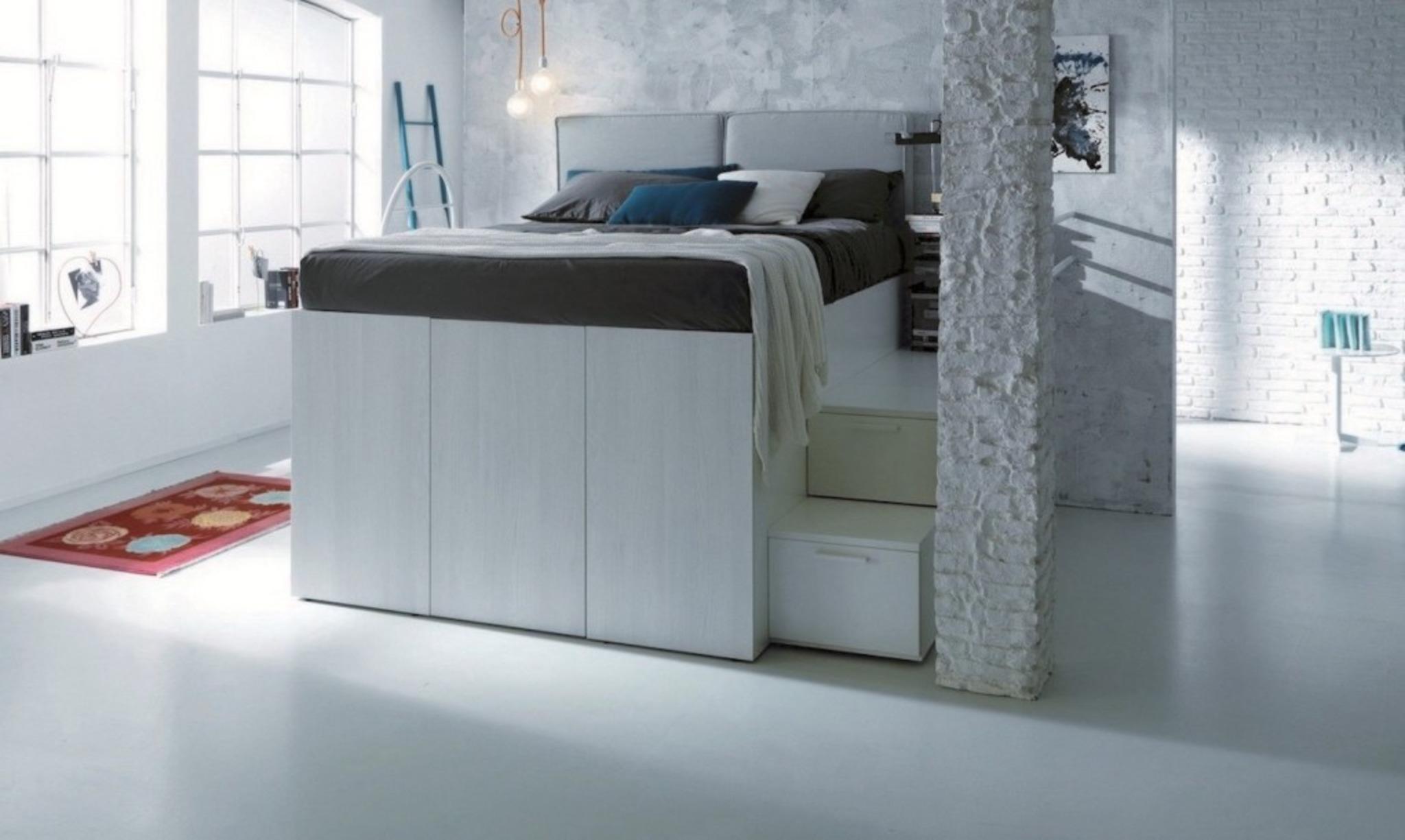 Dieses Platzsparende Bett Ist Auch Ein Begehbarer Schrank Baden