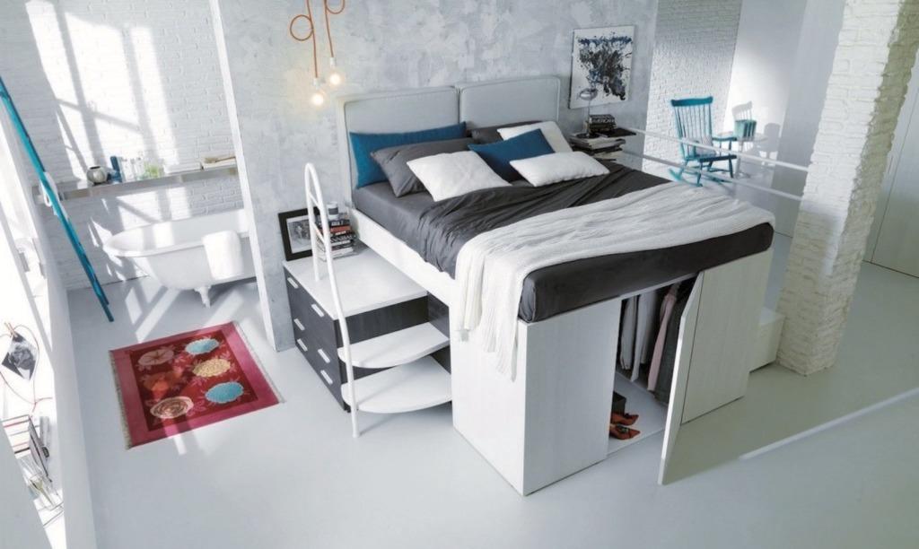 Turbo Dieses platzsparende Bett ist auch ein begehbarer Schrank - Baden NA98